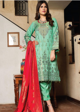 Fusion of Color by MTF Broschia Banarsi Viscose Unstitched 3 Piece Suit MTF20FC 05 - Winter Collection