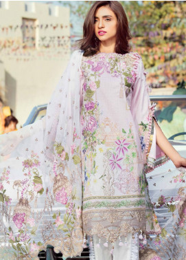 MusCari Embroidered Lawn Unstitched 3 Piece Suit MUS18L 112 - Spring / Summer Collection