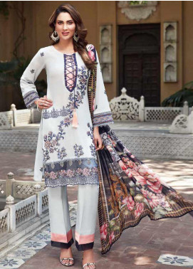 Mushk by Mohagni Embroidered Lawn Unstitched 3 Piece Suit MO20MU SE 02 - Spring / Summer Collection