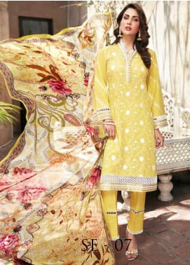 Mushk by Mohagni Embroidered Lawn Unstitched 3 Piece Suit MO20MU SE 07 - Spring / Summer Collection