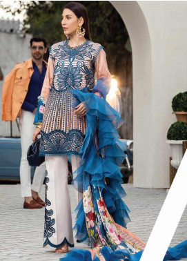 Mushq Embroidered Lawn Unstitched 3 Piece Suit MQ20S 01 - Spring / Summer Collection
