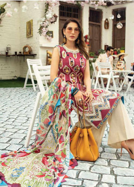 Mushq Embroidered Lawn Unstitched 3 Piece Suit MQ20S 02 - Spring / Summer Collection