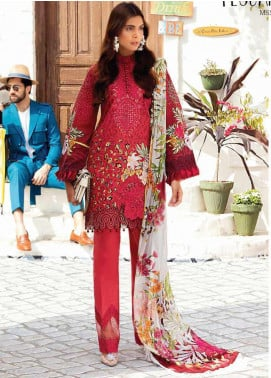 Mushq Embroidered Lawn Unstitched 3 Piece Suit MQ20S 03 - Spring / Summer Collection