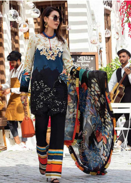 Mushq Embroidered Lawn Unstitched 3 Piece Suit MQ20S 05 - Spring / Summer Collection