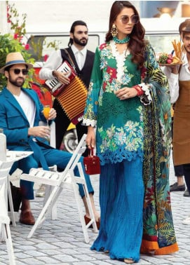 Mushq Embroidered Lawn Unstitched 3 Piece Suit MQ20S 06 - Spring / Summer Collection