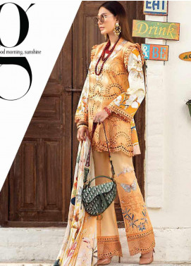 Mushq Embroidered Lawn Unstitched 3 Piece Suit MQ20S 07 - Spring / Summer Collection