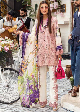 Mushq Embroidered Lawn Unstitched 3 Piece Suit MQ20S 08 - Spring / Summer Collection