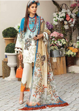 Mushq Embroidered Lawn Unstitched 3 Piece Suit MQ20S 09 - Spring / Summer Collection