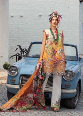 Mushq Embroidered Lawn Unstitched 3 Piece Suit MQ20S 10 - Spring / Summer Collection