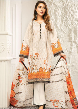 Muskan by Mohagni Embellished Lawn Unstitched 3 Piece Suit MMO20L 02 - Summer Collection