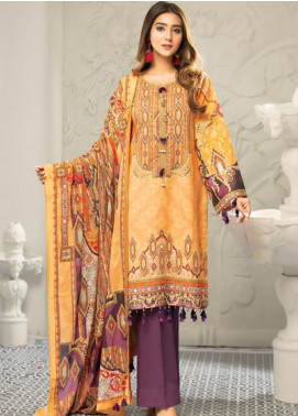 Muskan by Mohagni Embellished Lawn Unstitched 3 Piece Suit MMO20L 06 - Summer Collection
