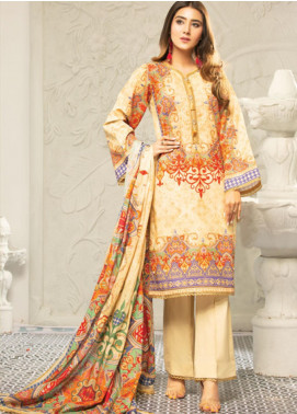 Muskan by Mohagni Embellished Lawn Unstitched 3 Piece Suit MMO20L 08 - Summer Collection