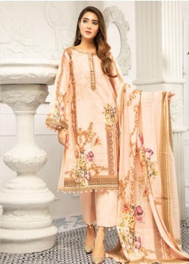 Muskan by Mohagni Embellished Lawn Unstitched 3 Piece Suit MMO20L 10 - Summer Collection