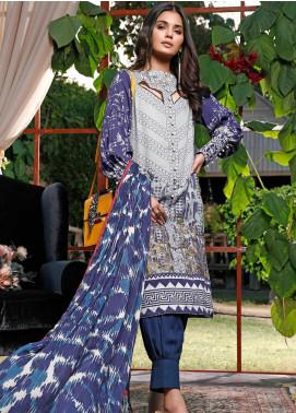 Mystique Embroidered Cotton Cotel Unstitched 3 Piece Suit MYS19W 05 - Winter Collection