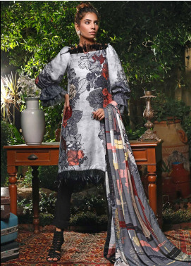 Mystique Embroidered Jacquard Unstitched 3 Piece Suit MYS19W 11 - Winter Collection