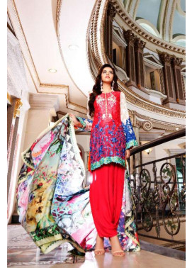 Nomi Ansari By Shariq Embroidered Chiffon Unstitched 3 Piece Suit NA17E 10