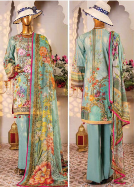Naayaab Clothing Embroidered Lawn Unstitched 3 Piece Suit NY20D 2 - Spring / Summer Collection