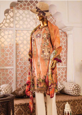 Naayaab Clothing Embroidered Lawn Unstitched 3 Piece Suit NY20D 9 - Spring / Summer Collection