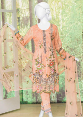 Naayaab Clothing Embroidered Lawn Unstitched 3 Piece Suit NYD20-01 - Spring / Summer Collection