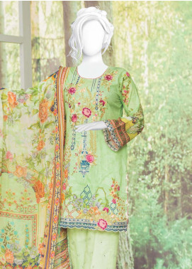 Naayaab Clothing Embroidered Lawn Unstitched 3 Piece Suit NYD20-04 - Spring / Summer Collection