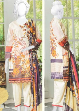 Naayaab Clothing Embroidered Lawn Unstitched 3 Piece Suit NYD20-05 - Spring / Summer Collection