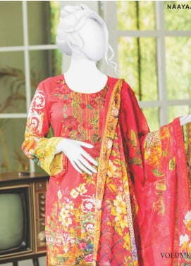 Naayaab Clothing Embroidered Lawn Unstitched 3 Piece Suit NYD20-06 - Spring / Summer Collection