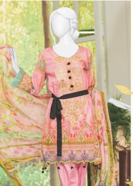 Naayaab Clothing Embroidered Lawn Unstitched 3 Piece Suit NYD20-09 - Spring / Summer Collection