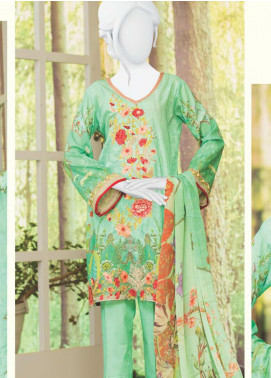 Naayaab Clothing Embroidered Lawn Unstitched 3 Piece Suit NYD20-10 - Spring / Summer Collection