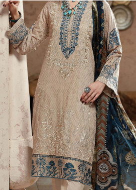 Nafasat by Resham Ghar Embroidered Lawn Unstitched 3 Piece Suit RG20N RGS-03 - Luxury Collection