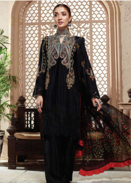 Nafasat by Resham Ghar Embroidered Lawn Unstitched 3 Piece Suit RG20N RGS-05 - Luxury Collection