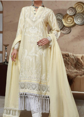 Nafasat by Resham Ghar Embroidered Lawn Unstitched 3 Piece Suit RG20N RGS-06 - Luxury Collection