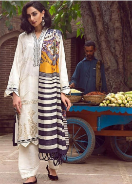 Tena Durrani Embroidered Chiffon Luxury Formal Collection 06 Odelia 2019