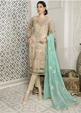 Nainsukh by House of Nawab Embroidered Net Unstitched 3 Piece Suit HON20N 06 ANAHITA - Luxury Collection