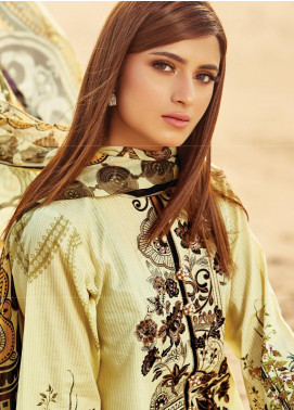 Naqsh by Florent Embroidered Lawn Unstitched 3 Piece Suit F20NQ 6B - Spring / Summer Collection