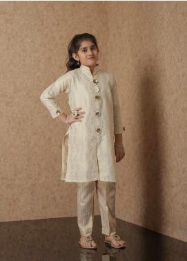 Nargis Shaheen Net Luxury 2 Piece Suit for Girls -  NSK-021