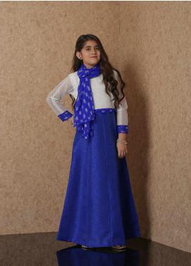 Nargis Shaheen Raw Silk Luxury Girls Suit -  NSK-022