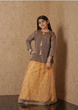 Nargis Shaheen Net Luxury Girls 2 Piece Suit -  NSK-024
