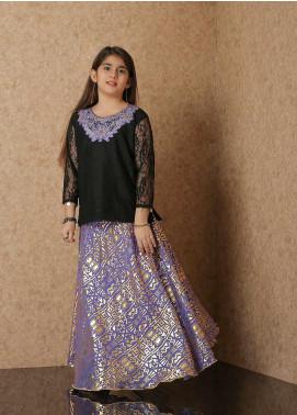 Nargis Shaheen Net Luxury 2 Piece Suit for Girls -  NSK-025