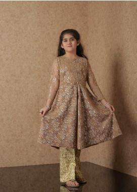 Nargis Shaheen Net Luxury Girls 2 Piece Suit -  NSK-026