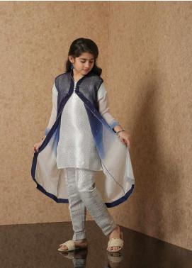 Nargis Shaheen Chiffon Luxury 2 Piece Suit for Girls -  NSK-027