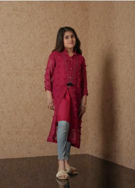 Nargis Shaheen Net Luxury Girls 2 Piece Suit - NSK-028