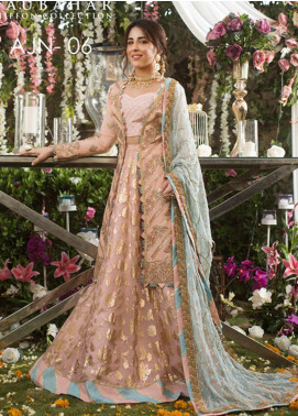 Naubahar by Asim Jofa Embroidered Raw Silk Unstitched 3 Piece Suit N20AJ 06 - Luxury Collection