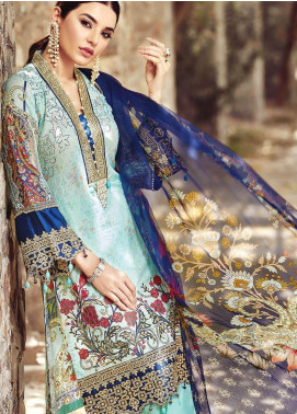 Nisa by Mohagni Embroidered Lawn Unstitched 3 Piece Suit MO20N MDE-01 - Festive Collection