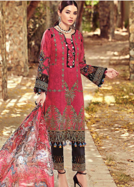 Nisa by Mohagni Embroidered Lawn Unstitched 3 Piece Suit MO20N MDE-10 - Festive Collection