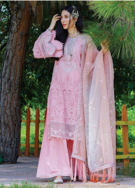 Nisa by Anamta Embroidered Lawn Unstitched 3 Piece Suit ANT20-N2 1 MEHR.UN.NISA - Eid Collection