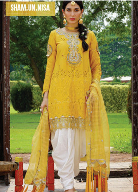 Nisa by Anamta Embroidered Lawn Unstitched 3 Piece Suit ANT20-N2 2 SHAM.UN.NISA - Eid Collection