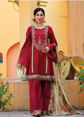 Nisa by Anamta Embroidered Lawn Unstitched 3 Piece Suit ANT20-N2 3 SHARF.UN.NISA - Eid Collection