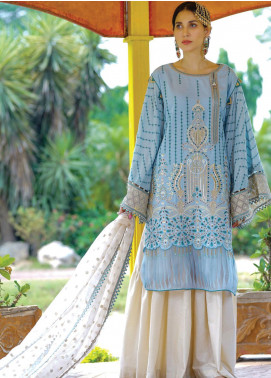Nisa by Anamta Embroidered Lawn Unstitched 3 Piece Suit ANT20-N2 4 FARHAT.UN.NISA - Eid Collection