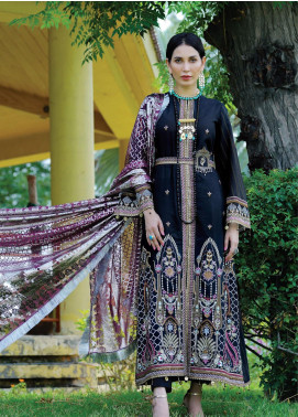 Nisa by Anamta Embroidered Lawn Unstitched 3 Piece Suit ANT20-N2 5 HAYAT.UN.NISA - Eid Collection