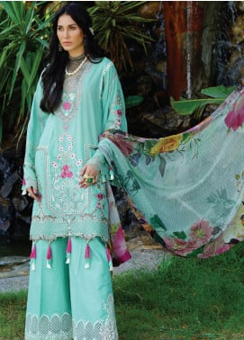 Nisa by Anamta Embroidered Lawn Unstitched 3 Piece Suit ANT20-N2 6 BAHAR.UN.NISA - Eid Collection